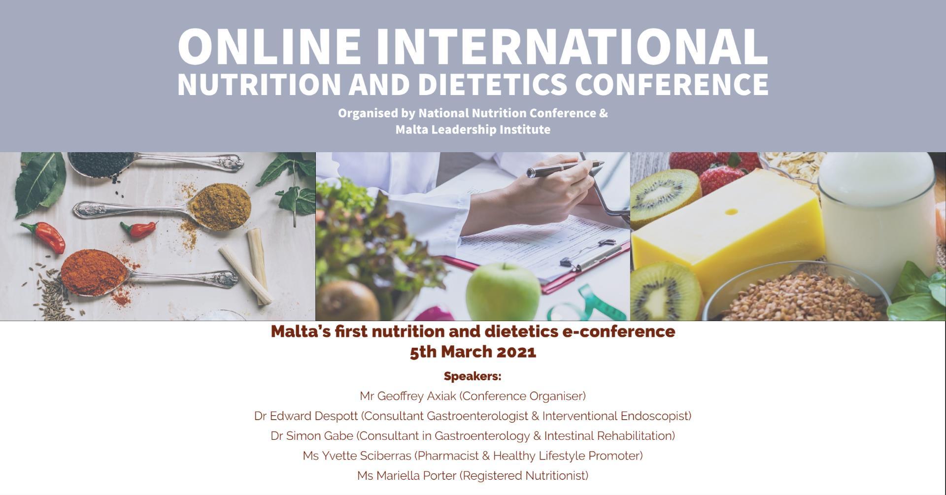 Online Nutrition & Dietetics Conference